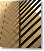 Architecture Reflection Metal Print