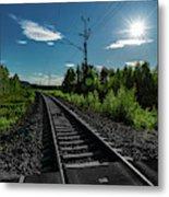 Arctic Express Metal Print