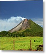 Arenal Volcano - Costa Rica Metal Print