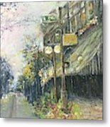 Argenta This Is Not Alices Restaurant Metal Print