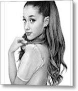 Ariana Grande drawing Metal Print