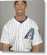 Arizona Diamondbacks Headshots Metal Print