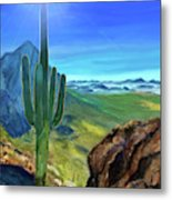 Arizona Heat Metal Print