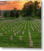 Arlington National Cemetery Sunrise Metal Print