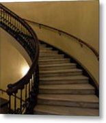 Arlington Spiral Stairs Metal Print