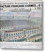 Arms Manufacturing Industry, St Metal Print