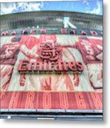 Arsenal Fc Stadium London Metal Print