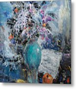 Articulated Melody Metal Print