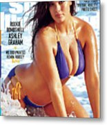 Ashley Graham Swimsuit 2016 Sports Illustrated Cover Metal Print