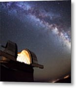 Astronomical Observatory Under The Stars Metal Print