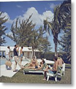 At Lyford Cay Metal Print