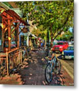 College Town Athens Georgia Downtown Uga Athens Georgia Art Metal Print