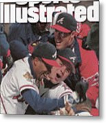Atlanta Braves, 1995 World Series Sports Illustrated Cover Metal Print