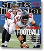 Atlanta Falcons V New York Giants Sports Illustrated Cover Metal Print