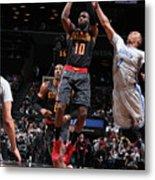 Atlanta Hawks V Brooklyn Nets Metal Print