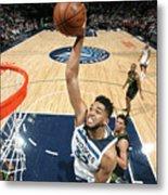 Atlanta Hawks V Minnesota Timberwolves Metal Print