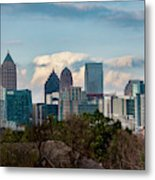Atlanta Skyline 2 Metal Print