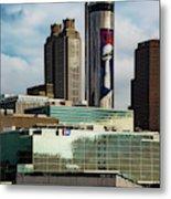 Atlanta Skyline 3 Metal Print