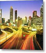Atlanta Skyline, Georgia, Usa Metal Print