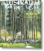 Augusta National Golf Course, 1960 Masters Preview Sports Illustrated Cover Metal Print
