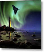 Auroral Splendour For The Vulcan Metal Print