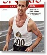 Australia John Landy, 1954 British Empire And Commonwealth Sports Illustrated Cover Metal Print