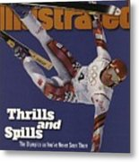 Austria Herman Maier, 1998 Winter Olympics Sports Illustrated Cover Metal Print
