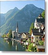 Austria, Salzburger Land, Hallstatt Metal Print