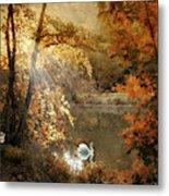 Autumn Afterglow Metal Print
