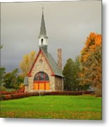 Autumn At Grand Pre Metal Print