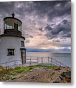 Autumn Morning At Owls Head Metal Print