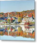 Autumn On Lake Winnipesaukee Metal Print