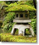 Autumn, Pagoda, Japanese Garden Metal Print