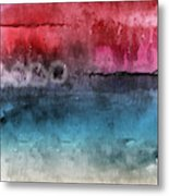 Awakened 4-  Abstract Art By Linda Woods Metal Print