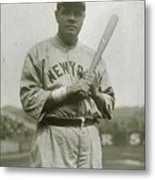 Babe Ruth Aetherial Metal Print