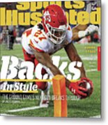 Backs In Style The Ground Games Next Gen Breaks Through Sports Illustrated Cover Metal Print