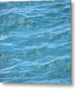 Bahamas Blue Metal Print