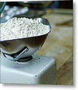 Bakery Scales Metal Print