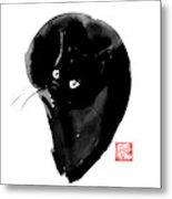 Ball Cat Metal Print