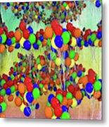 Balloons Everywhere Metal Print