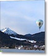 Balloons Over Tegernsee Metal Print