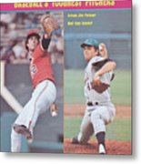 Baltimore Orioles Jim Palmer And New York Mets Tom Seaver Sports Illustrated Cover Metal Print