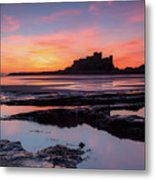 Bamburgh Castle Bam0032 Metal Print