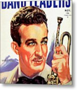 Band Leaders Harry James, 1931 Poster Metal Print
