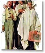 Barbershop Quartet Metal Print