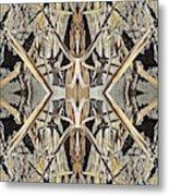 Bark Laces Metal Print