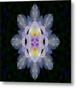 Baroque Fantasy Flowers Ornate Metal Print