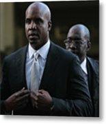 Barry Bonds Perjury Trial Begins In San Metal Print