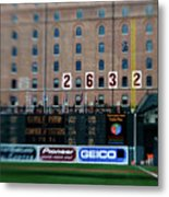 Baseball - Cal Ripken Hall Of Fame Metal Print
