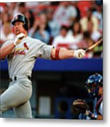 Baseball - Mark Mcgwire Metal Print